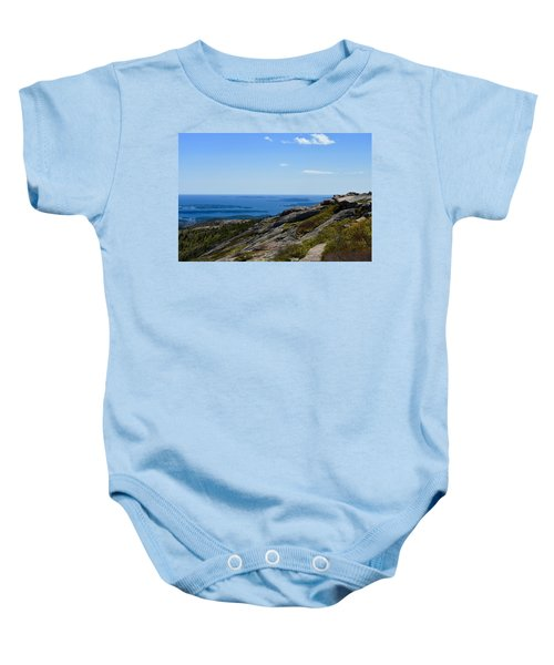 View From Cadillac Mountain Baby Onesie