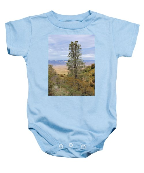 View From Pine Canyon Rd Baby Onesie