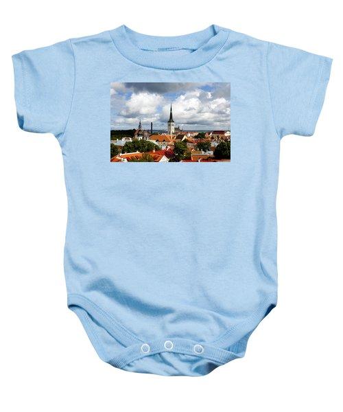 View Of St Olav's Church Baby Onesie