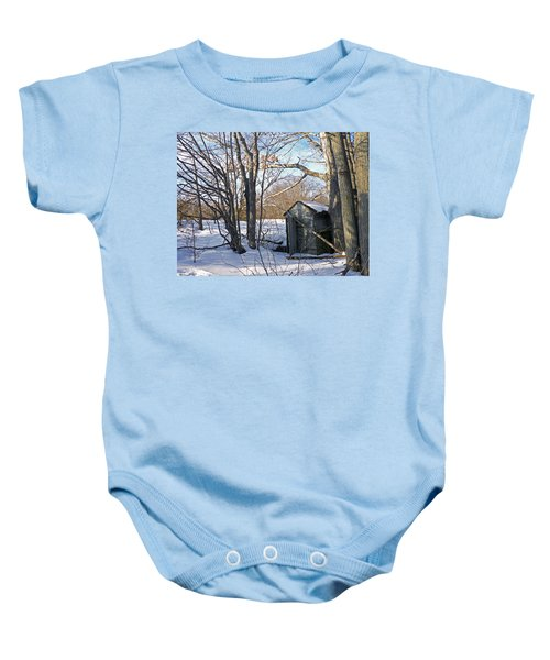 View Of The Past Baby Onesie