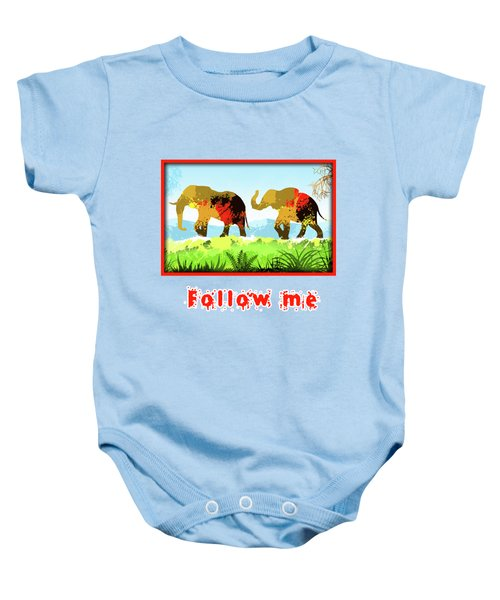 Walk With Me Baby Onesie
