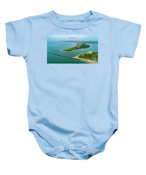 Washburns Island Baby Onesie