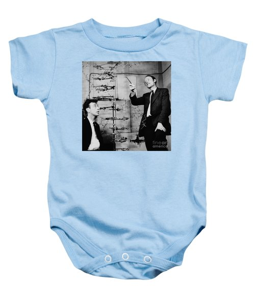 Watson And Crick Baby Onesie