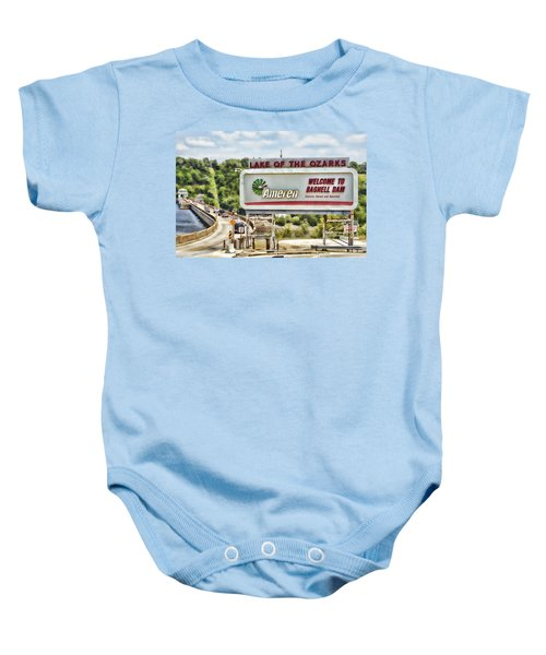 Welcome To Bagnell Dam Baby Onesie