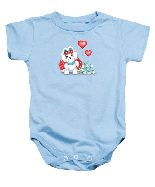 Welcome With Love  Baby Onesie