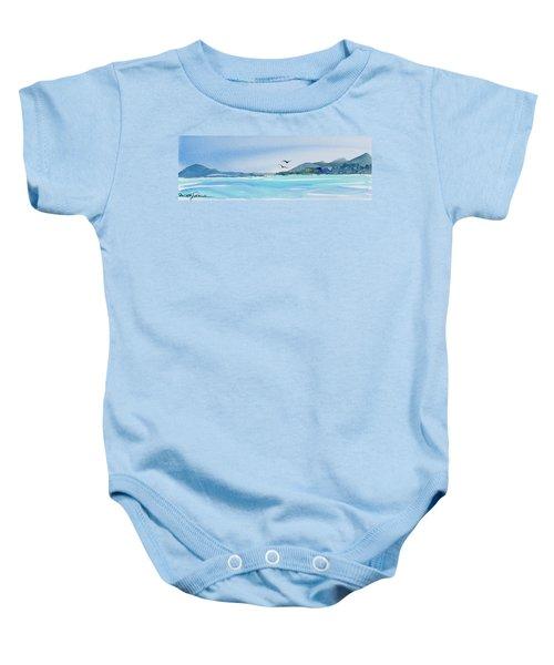West Coast  Isle Of Pines, New Caledonia Baby Onesie