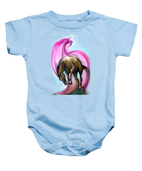 What If... Baby Onesie by Kevin Middleton