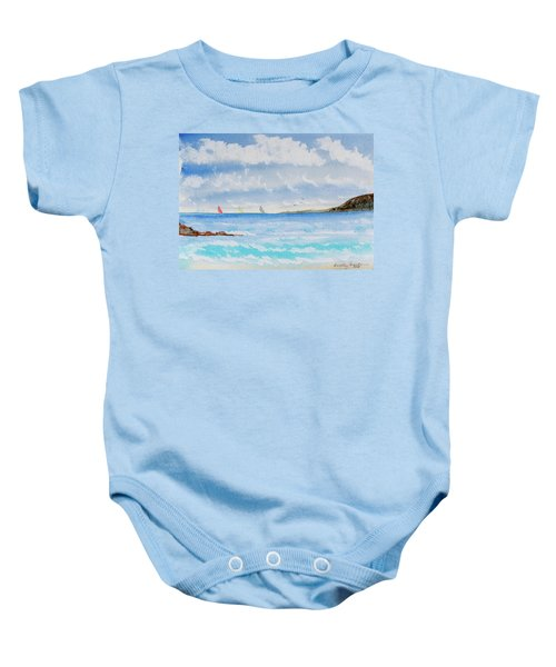 Where There's A Wind, There's A Race Baby Onesie