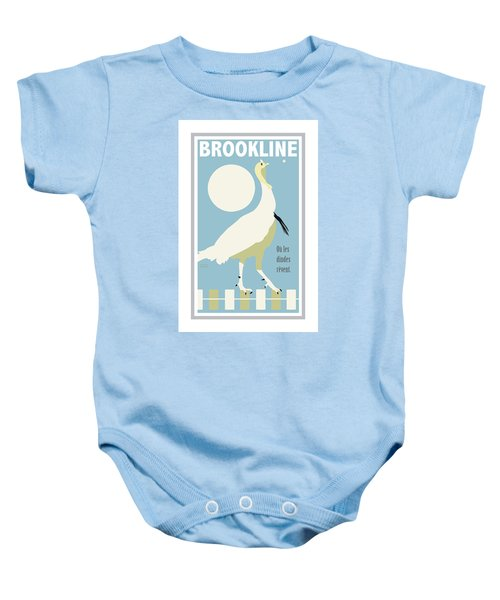 Where Turkeys Dream Baby Onesie