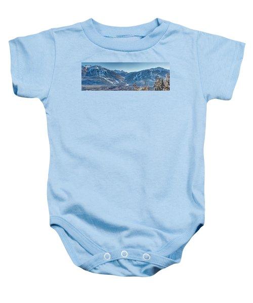 Whistler Blackcomb Ski Resort Baby Onesie