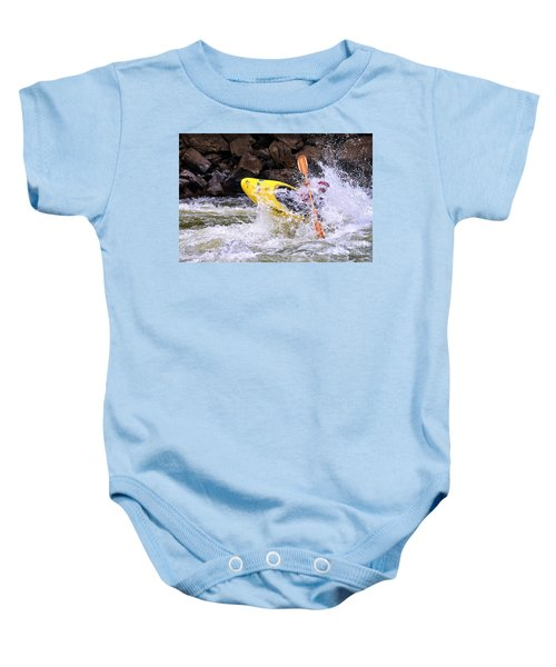 Whitewater On The New River Baby Onesie