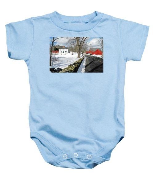 Whittier Birthplace Baby Onesie