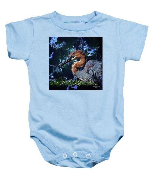 Wild Goliath Herona Baby Onesie