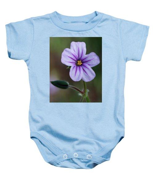 Wilderness Flower 3 Baby Onesie