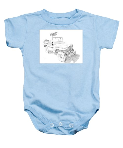 Willy In Ink Baby Onesie