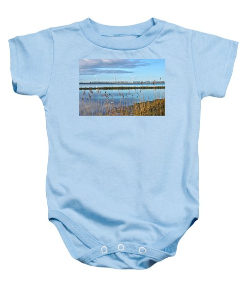 Windmills On A Windless Morning Baby Onesie