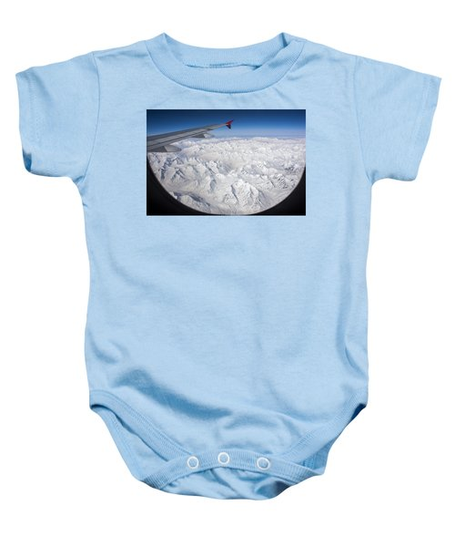 Window To Himalaya Baby Onesie by Hitendra SINKAR