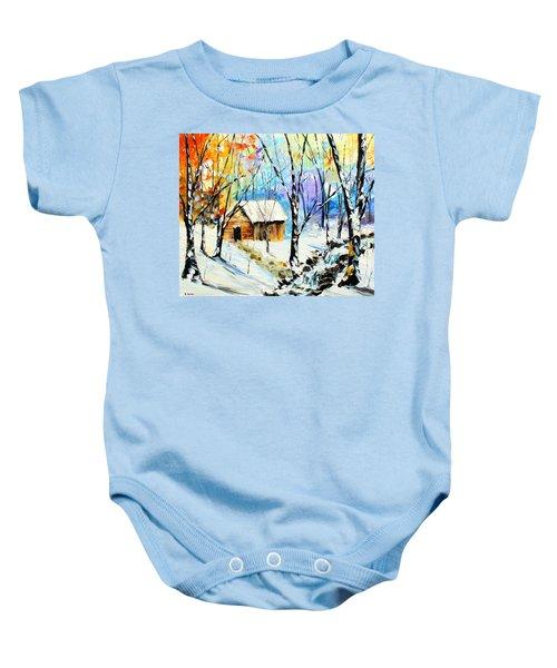 Winter Colors Baby Onesie