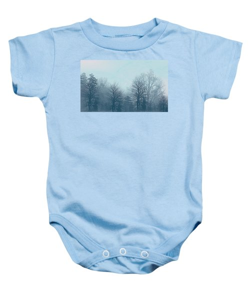 Winter Morning Baby Onesie