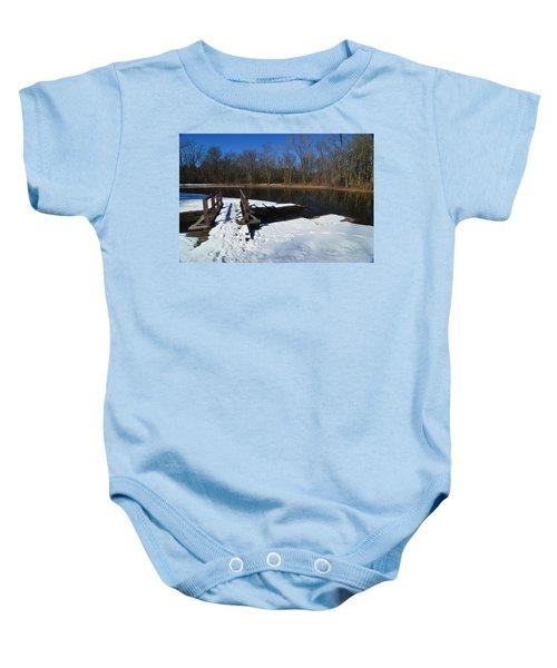 Winter Park Baby Onesie