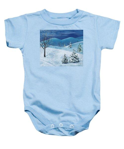Winter Solstice Baby Onesie