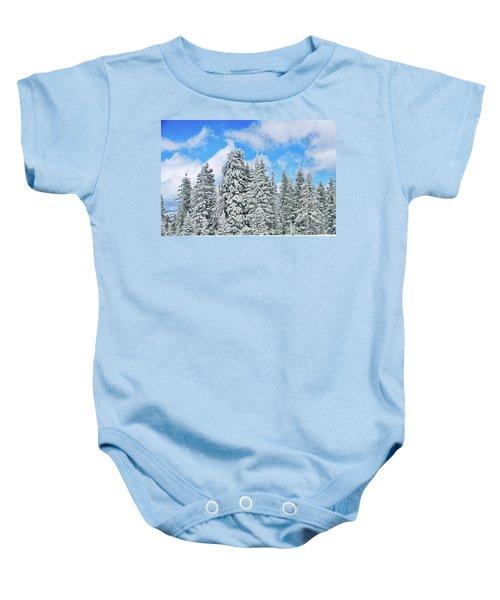 Winterscape Baby Onesie