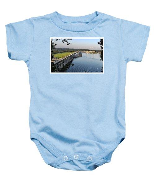 Wolf Creek Dam Baby Onesie