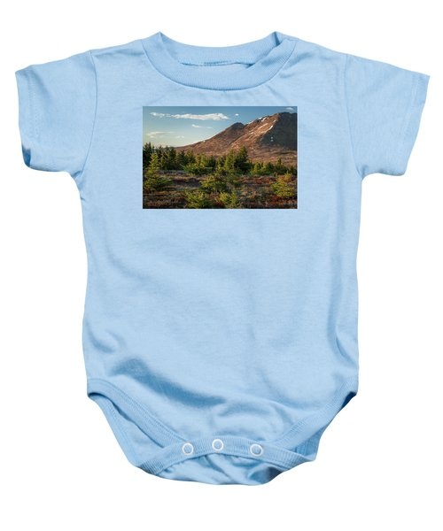 Wolverine Mt Near Sunset Baby Onesie