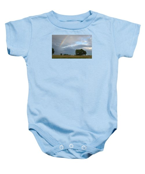Wyoming Rainbow Baby Onesie