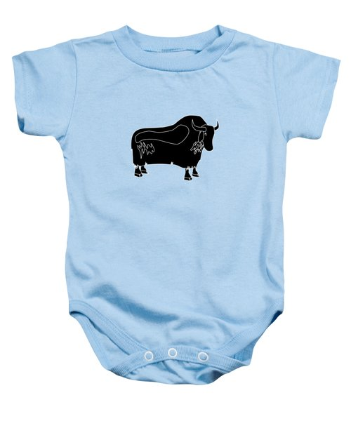 Yak Baby Onesie by Frederick Holiday