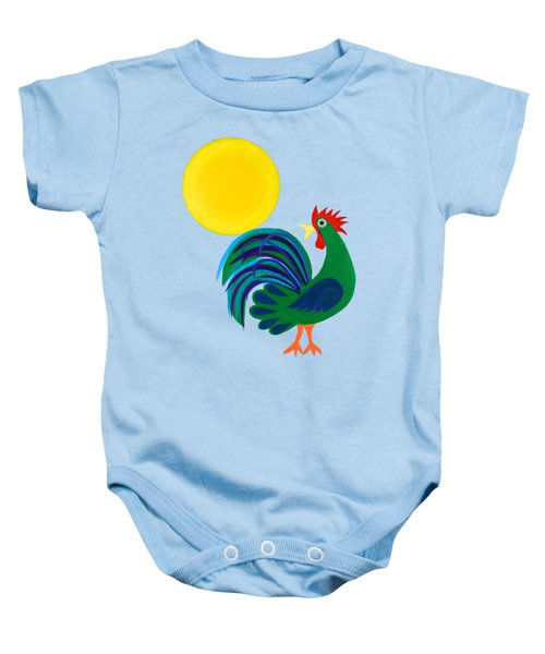 Year Of The Rooster Baby Onesie