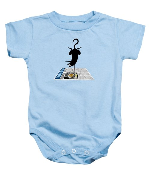 Yoga Mat Baby Onesie by Andrew Hitchen