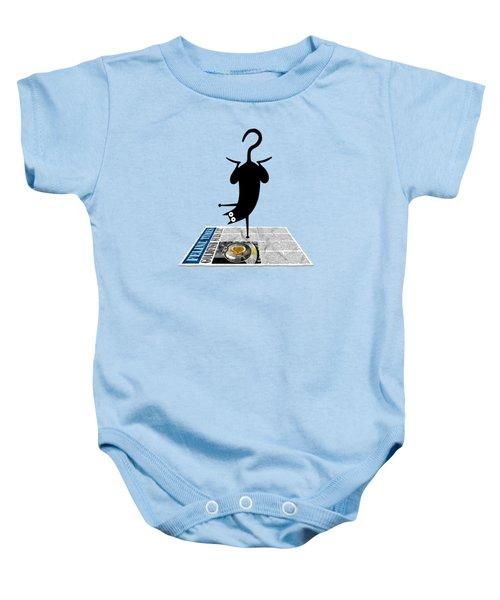 Yoga Mat Baby Onesie
