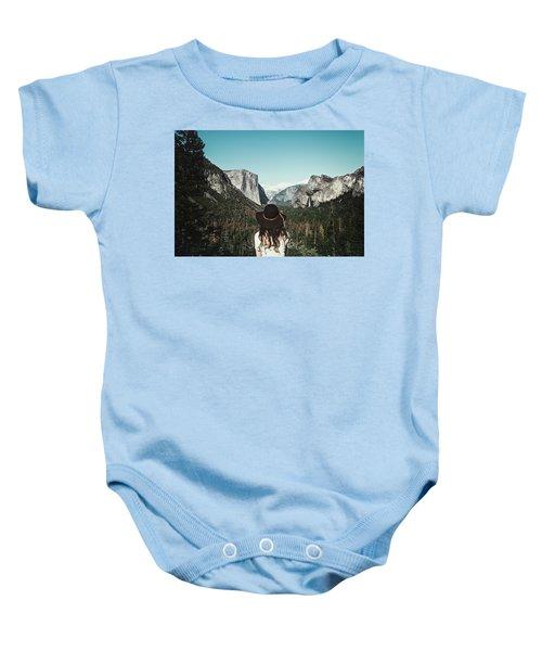 Yosemite Awe Baby Onesie