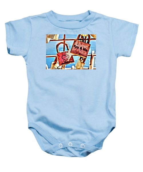 You And Me Baby Onesie