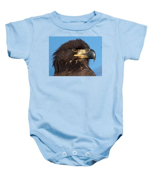 Young Eagle Head Baby Onesie
