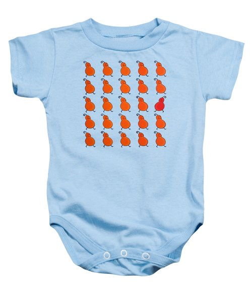 Your Own Path Is The Way Remix Baby Onesie by Oliver Johnston