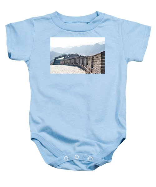 The Great Wall Of China Baby Onesie