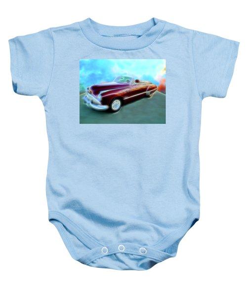 1949  Buick Convertable Baby Onesie