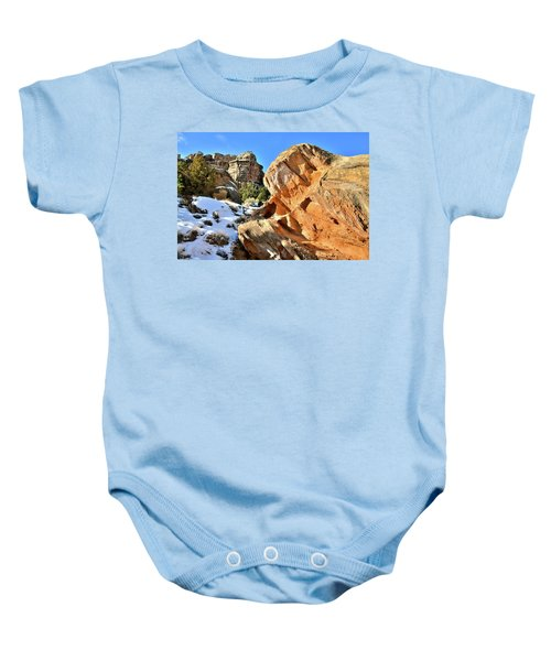 Colorful Colorado National Monument Baby Onesie