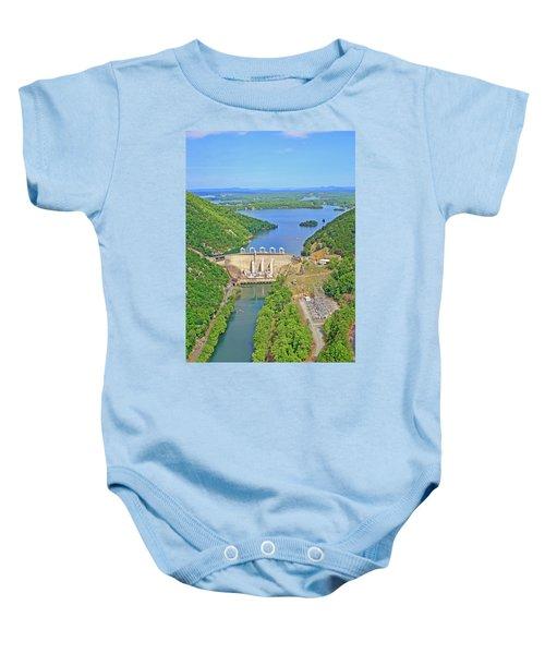 Smith Mountain Lake Dam Baby Onesie