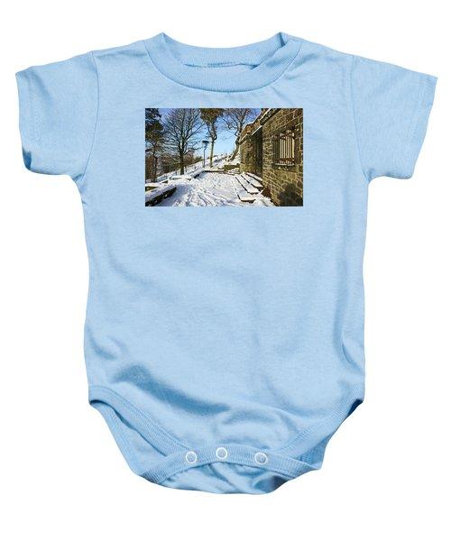 30/01/19  Rivington. Summerhouse In The Snow. Baby Onesie