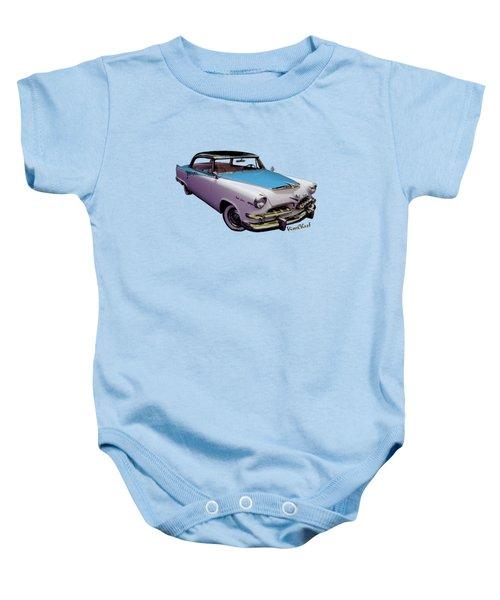 489e01e0f 55 Dodge Hemi Hardtop Ahead Of The Pack-mobile Baby Onesie