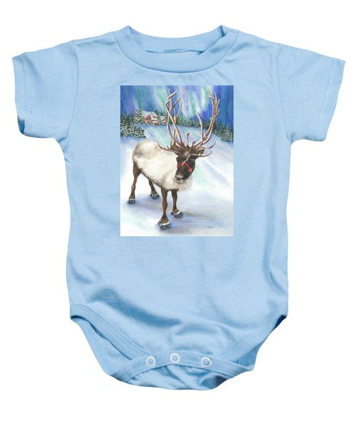 A Winter's Walk Baby Onesie