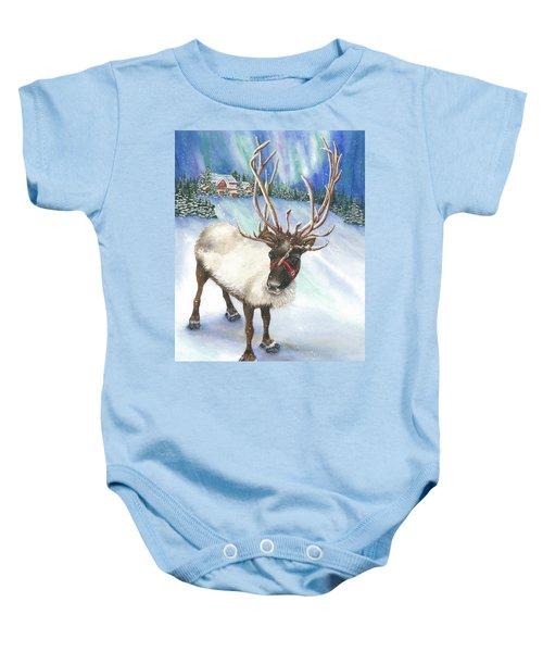 A Winter's Walk Baby Onesie