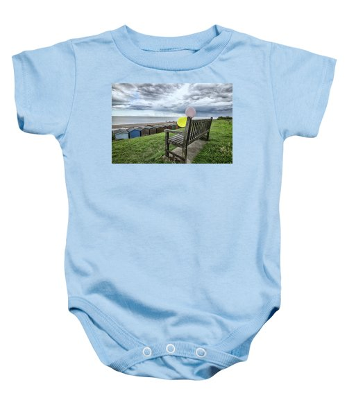 After The Party Baby Onesie