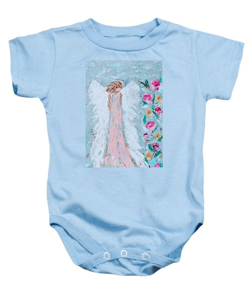 Angel For Childbirth And Baby Onesie