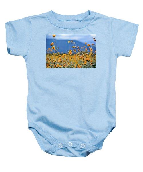 Anza Borrego Wild Desert Sunflowers Baby Onesie