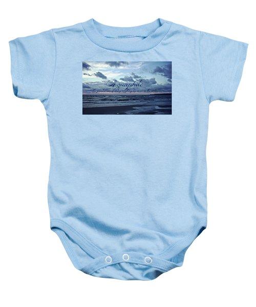 Aquaphile Baby Onesie