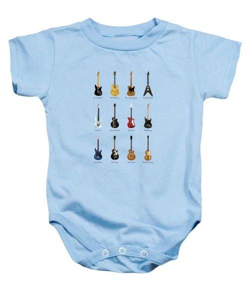 Guitar Icons No2 Baby Onesie